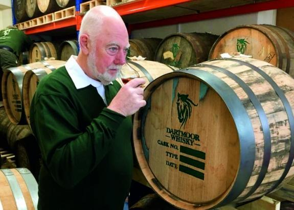 Frank McHardy Visits for First Distillations' One Year Anniversary