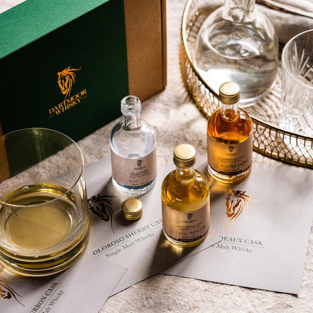 Dartmoor Whisky Discovery Set