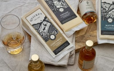 Pairing: Quicke's Clothbound Cheese & Dartmoor Whisky Single Malt