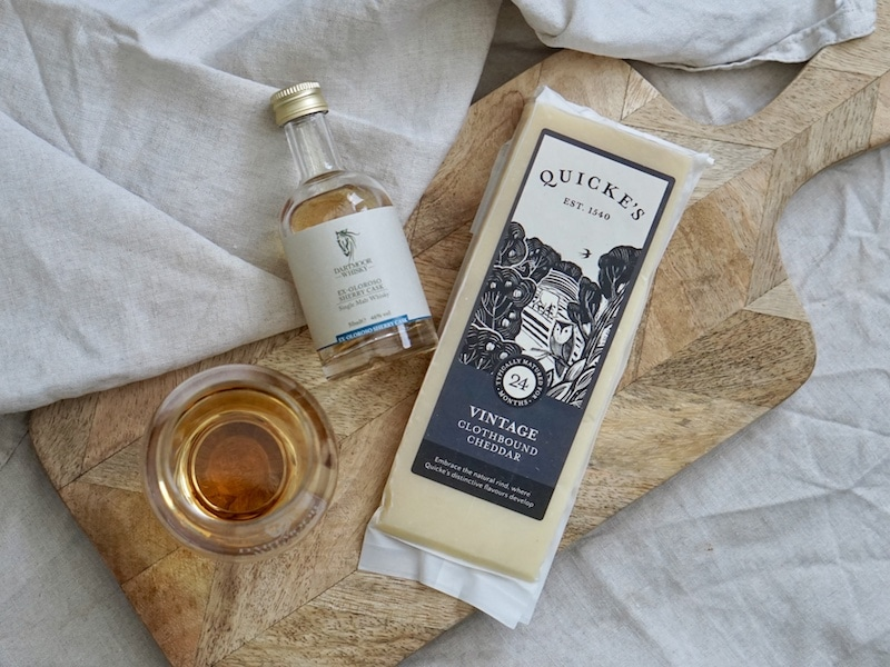 Dartmoor Whisky Quicke's Cheese Pairing